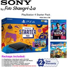 Sony PS4 Slim 500GB Party Bundle Pack [FREE Extra Controller + 2 Years Warrant