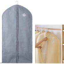 Foldable Dust Proof Business Coat Clothes Cover GREY
