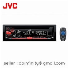 JVC KD-R482 Car Stereo Audio Radio MP3 FLAC USB AUX Input CD Receiver