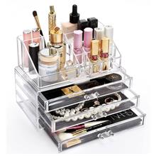 Acrylic Cosmetic Make Up Beauty Container Storage Box Organizer