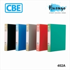 CBE 4 Holes Clear Holder Book 402A (Refillable)