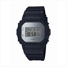Casio G-Shock Men Silver Metallic Mirror Digital Watch DW-5600BBMA-1DR