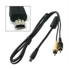 AV Cable for Digital Camera (Compatible to Canon AVC-DC400)