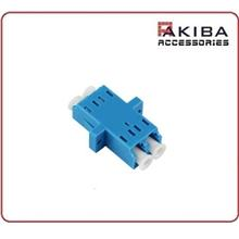 LC-LC Duplex Multimode Fiber Optical Adapter