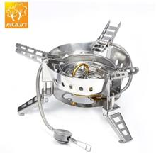 Bulin Bl100 B17 Portable Gas Stove For Outdoor Cooking Silver