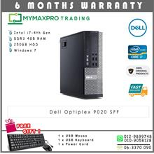 Dell Optiplex 9020 SFF Intel i7-4th Gen 4GB 250GB HDD Win 7 Desktop