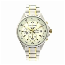 SEIKO Chronograph Quartz Dual Tone SKS629 SKS629P1 Mens Watch