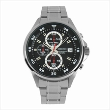 SEIKO Chronograph Quartz Black Dial SKS627P1  SKS627 Mens Watch