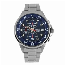 SEIKO Chronograph Quartz Blue Dial SKS625P1 SKS625 Mens Watch