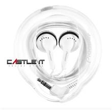 PIONEER Earphone Wired (SE-CE11-H) WHITE -ORIGINAL