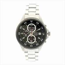SEIKO Chronograph Quartz Black Dial SKS633P1 SKS633 Mens Watch