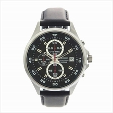 SEIKO Chronograph Quartz Leather SKS635P1 SKS635 Mens Watch