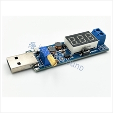 DC-DC buck and boost converter with digital voltmeter (XY-UP, XT3608)