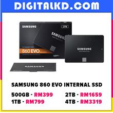 [FLASH SALE] Samsung 860 EVO 250GB 500GB 1TB SSD