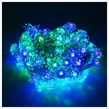 10M 100 LEDS LOTUS STRING FAIRY LIGHT FOR CHRISTMAS PARTY (RGB COLOR)