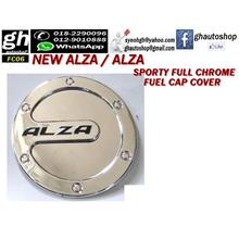 ALZA / NEW ALZA FULL CHROME FUEL CAP COVER