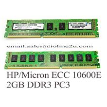 2GB Dell Hp 500209-061 IBM Micron DDR3 ECC Server Ram 10600E PC3 2Rx8