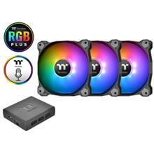 Thermaltake Premium Pure Plus 12 RGB Radiator Fan 3 Pack