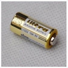10A 9V dry pamary alkaline battery L1022 A23L