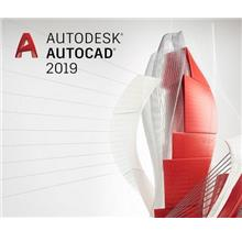 Autodesk AutoCAD 2019 Commercial New Single-user Annual Subscription