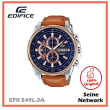 CASIO EDIFICE EFR-549L-2A WATCH [ORIGINAL]
