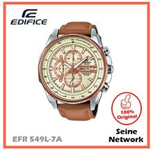 CASIO EDIFICE EFR-549L-7A WATCH [ORIGINAL]