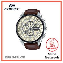 CASIO EDIFICE EFR-549L-7B WATCH [ORIGINAL]