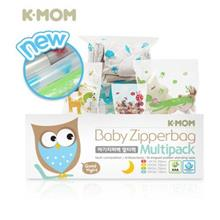 K-Mom Baby Zipper Bag Multipack