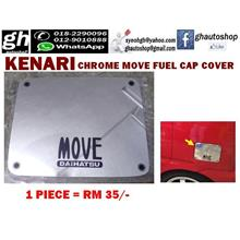 KENARI sporty chrome fuel cap cover with Move logo