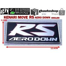 KENARI rear boot RS AERODOWN logo emblem