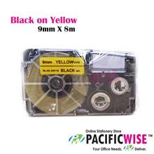 CASIO LABEL TAPE 9MM - (COMPATIBLE)