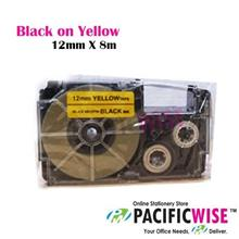 CASIO LABEL TAPE 12MM - (COMPATIBLE)