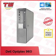 Dell Optiplex 960 (SFF) Desktop PC (Factory Refurbished)