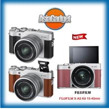 NEW FUJIFILM X-A5 Kit 15-45mm FREE Sandisk Ultra 32Gb
