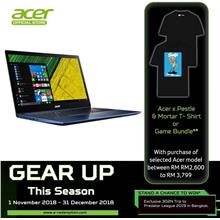 Acer Swift 3 SF315-51G-55UH - i5-8250U/8GB/256GB/MX150 2GB/15.6FHD/W10)