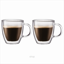 Bistro Double Wall with Handle 2Pcs Espresso Mug Extra Small - 10602-10
