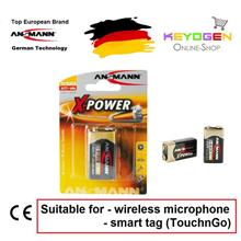 Ansmann X-Power Alkaline Battery E / 6LR61 (1 pcs) GERMAN TECHNOLOGY