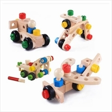 Kids Station 30pcs Changeable Nut Building Blocks Car - ETY5823