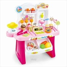 Kids Station 34pcs Mini Market Playset - BA66824