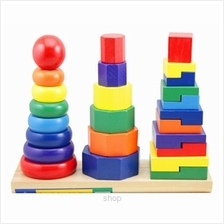 Kids Station 3 Column Rainbow Tower - BAKT5039