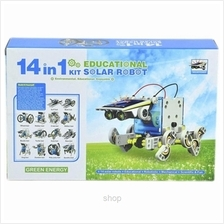 Kids Station 14 In 1 Solar Robot Kit - IQS2115)