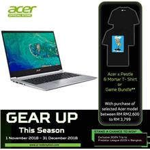 Acer Swift 3 SF314-55-501C - I5-8265U/4GB/ 128GB/IntelHD/14'FHD/W10)