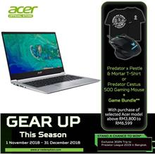 Acer Swift 3 SF314-55G-76TZ - I7-8565U/8GB/512GB/MX150 2GB/14'FHD/W10)