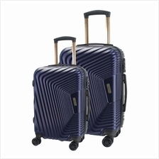 Case Valker Travel Luggage Bag Voyage ABS Hard Case with Stopper TSA