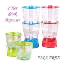 Ramadan 8309 Double Layer Water Drink Dispenser (13L) Random colour