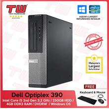 Dell Optiplex 390 (SFF) Core i5 2nd Generation 3.2GHz (Refurbished)
