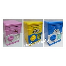 Money Saving Box Coin Bank Safe Deposit Box Security Box