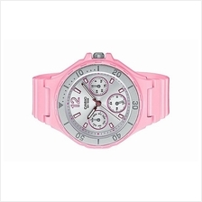 Casio Ladies Pink Rubber Strap Sport Watch LRW-250H-4A2VDF