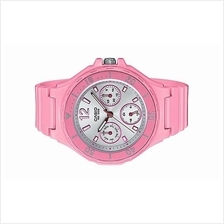Casio Ladies Pink Rubber Strap Sport Watch LRW-250H-4A3VDF
