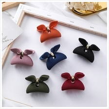 HA0156 PINKY RIBBON HAIRCLIP